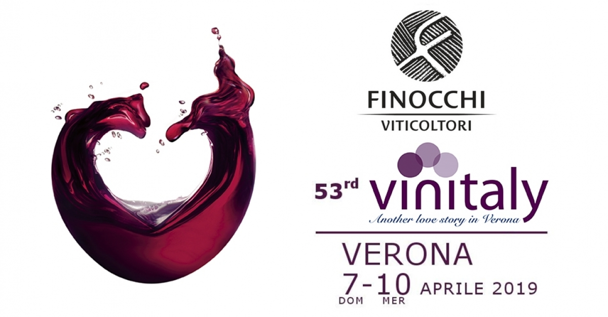 Finocchi viticoltori in Verona for the Vinitaly 2019